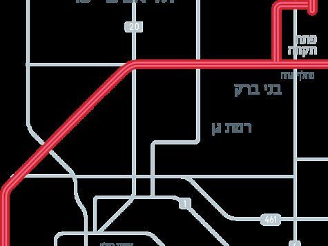 транспорта в Тель-Авиве.