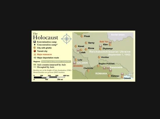 Британская газета опубликовала статью о том, как бандеровцы убивали евреев