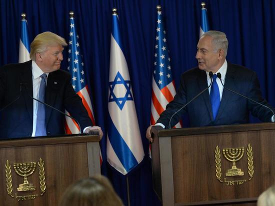 Трамп прибыл вИзраиль спервым визитом
