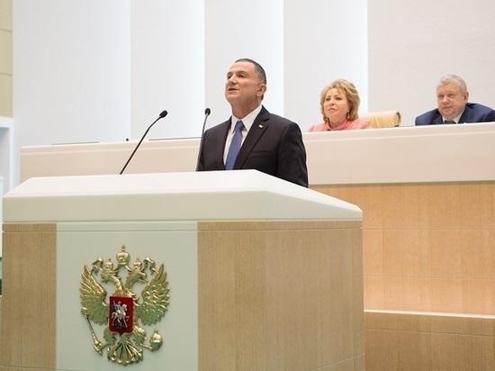 Впервые: председатель Кнессета выступил перед пленумом Совета Федерации РФ
