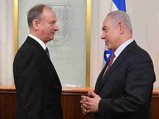 Состоялась встреча Биньямина Нетаниягу с секретарем Совета безопасности России Николаем Патрушевым