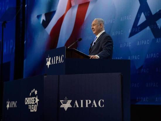 Биньямин Нетаниягу выступил перед участниками конференции Американо-израильского комитета по общественным делам