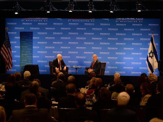 Премьер-министр Биньямин Нетаниягу выступил перед The Economic Club в Вашингтоне